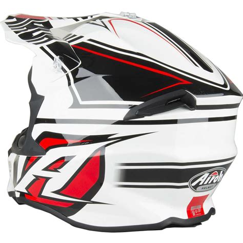 airoh motocross helmets uk airoh new mx 2017 twist avanger white red black motocross