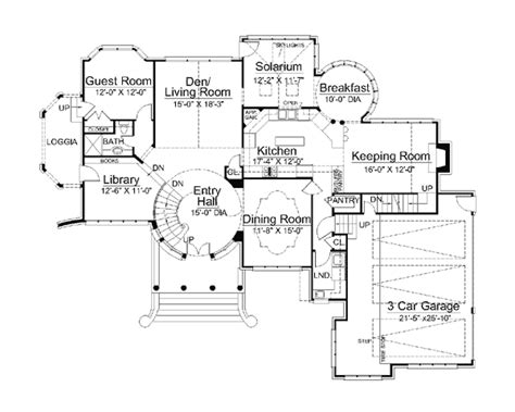 tudor revival floor plans european greek revival tudor victorian house plan 98281