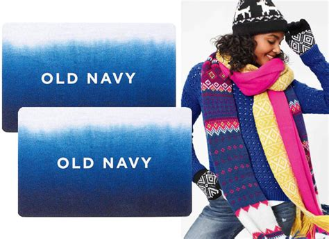 Can You Use Old Navy Gift Card At Gap - hot only 40 for 50 old navy egift card more gift card deals