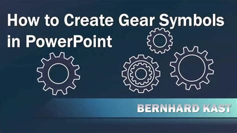 how to create gear diagrams in powerpoint using shapes how to create and animate gear symbols in powerpoint youtube