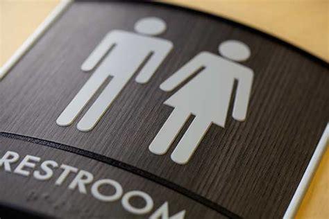 bathroom signages curved wood bathroom ada signs curved modular sign
