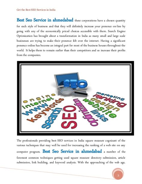 best seo services get the best seo services in india