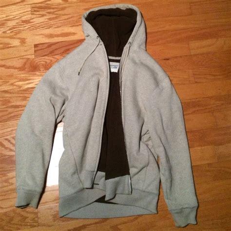 Outwear Sweater Hoodie Navy 75 navy outerwear navy sherpa hoodie from