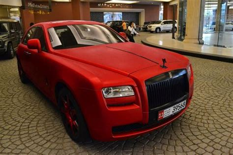 Matte Red Rolls Royce Ghost This Is A Car I Would