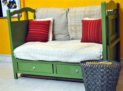 turn single bed into couch for the love of sunshine corners our baby s crib was