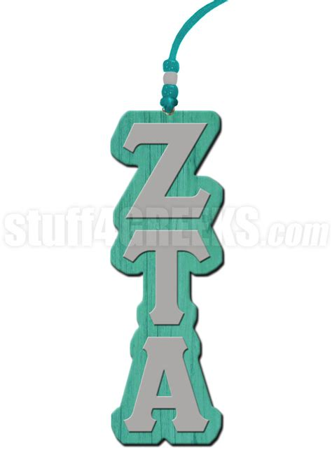 Recommendation Letter For Zeta Tau Alpha Zeta Tau Alpha Letter Tiki Necklace