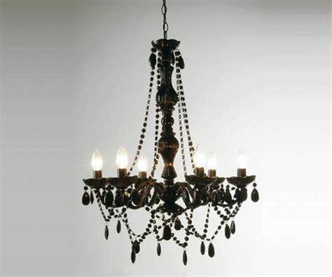 lustre baroque pas cher lustre baroque noir pilles 6 branches kare design