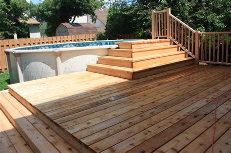 2012 platform deck to aboveground pool