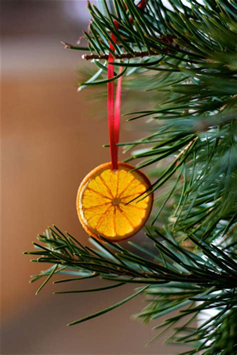 diy decorations orange holiday ornaments