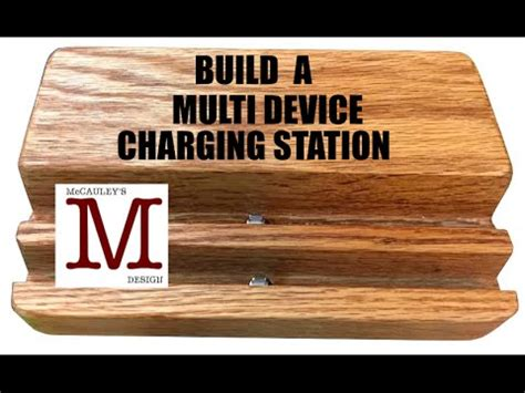 how to make your personal charging station home building a multi device charging station 017 youtube