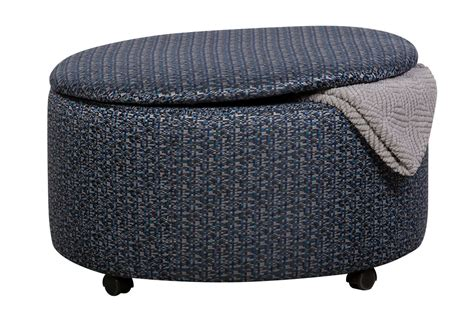 circle ottoman with storage binetti round storage ottoman at gardner white