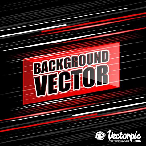 Abstact line red and white background black free vector