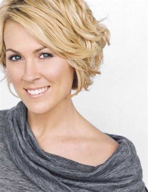 hairstyles for short curly layered hair at the awkward stage 30 short haircuts for wavy hair short hairstyles