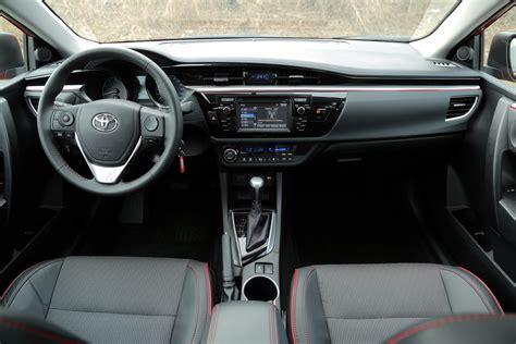 2015 Toyota Corolla Interior 2015 Toyota Corolla Vs Volkswagen Golf Autoguide News