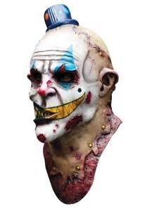 Mime zack scary clown mask scary halloween masks
