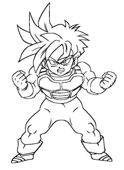 los mejores dibujos para dibujar pictures to pin on dragon ball z imagenes para colorear dragon ball