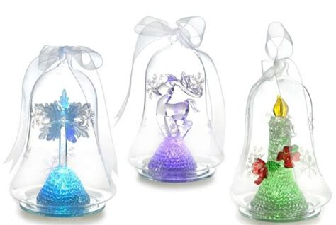 ornaments that light up light up glass ornament