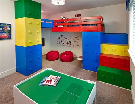 lego bedrooms lego inspired furniture and designs with nostalgic flair