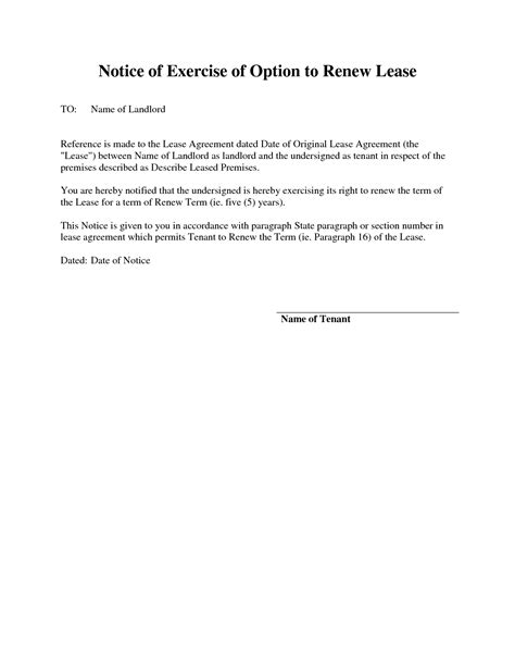 letter apartment renewing lease letter template