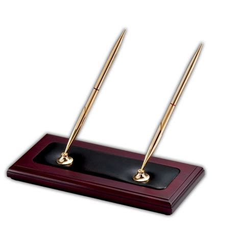 pen stand for desk a8004 rosewood leather pen stand