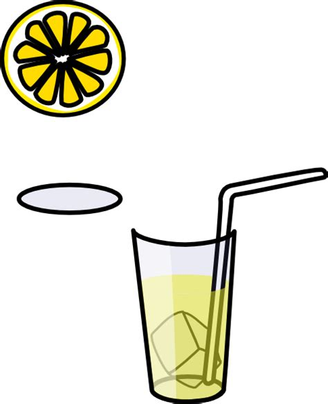 lemonade clipart glass of lemonade clip at clker vector clip