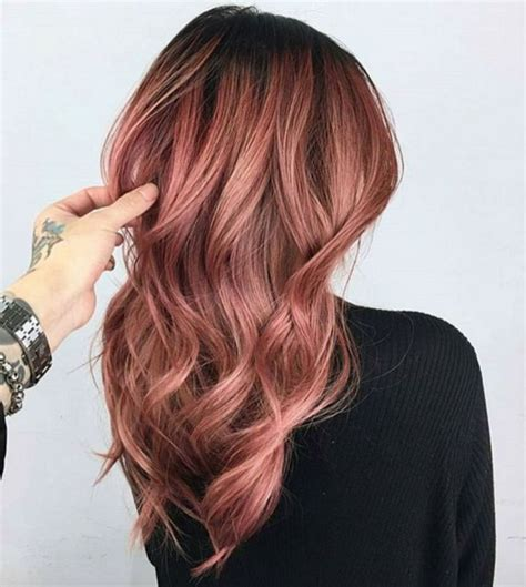 hair color for 45 45 beautiful rose gold hair color ideas trend 2017 rose