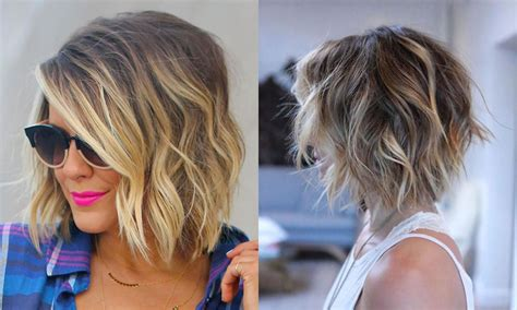 Hair Color For Bob Hairstyles by Balayage Bob Hairstyles Hair Colors For 2018 2019 Page