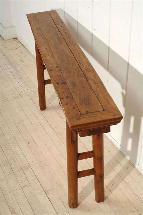 very narrow sofa table very narrow console table at 1stdibs
