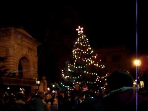2011 downtown concord nh christmas tree lighting youtube