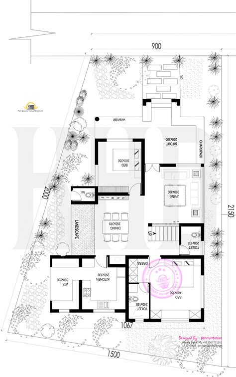 floor plan concept open plan concept home kerala home design and floor plans