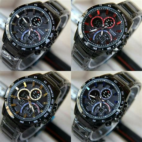 Jam Tangan Diesel Black jual jam tangan d ziner dz 8106 black original anti air