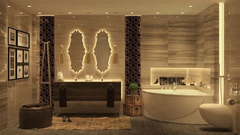 Get the moroccan style for your luxury bathroom inspiration and ideas from maison valentina