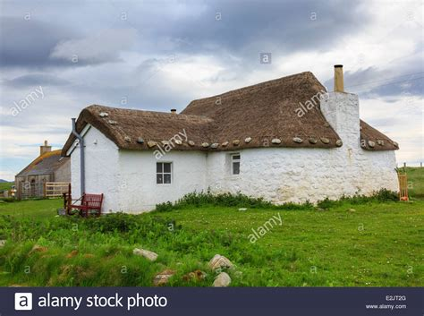Cottages In The Outer Hebrides by Youth Hostel In Thatched Blackhouse Cottage With