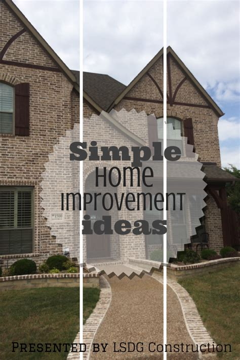 simple home improvement ideas lsdg roofing and construction