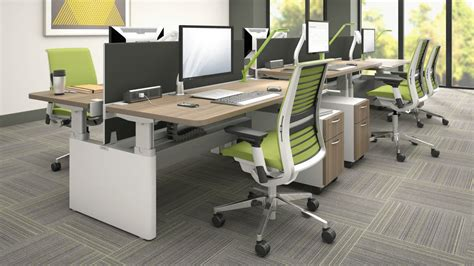 steelcase series bench corporate interiors