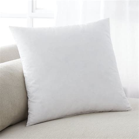 18 Pillow Insert by Feather 18 Quot Pillow Insert Crate And Barrel