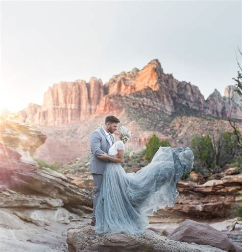 Wedding Zion National Park by Desert Wedding Inspiration At Zion National Park Green