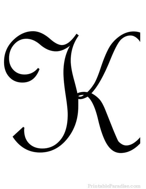 printable big cursive letters 26 best cursive letters images on pinterest cursive