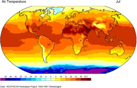 pattern of thermal energy vudeevudee s geography blog global surface temperature