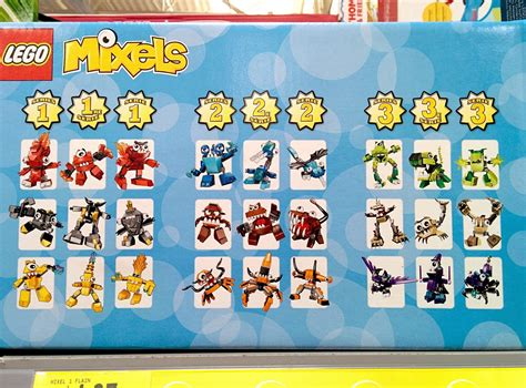 Lego Mixels 1 techfleet spot lego mixels series 1 2 3