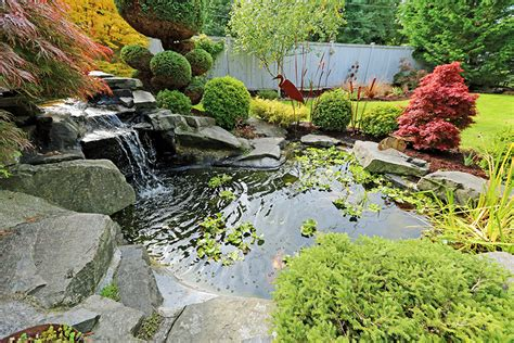 water features in landscape design custom water features