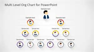 free multi level org chart for powerpoint slidemodel