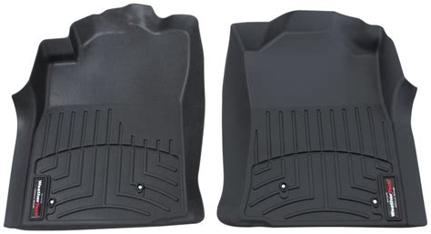 Toyota Tacoma Floor Mats 2011 by Weathertech Front Auto Floor Mats Black Weathertech