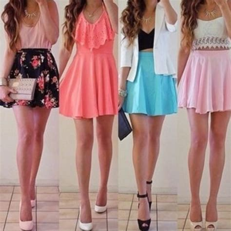 cute floral skirt outfits for teens 17 best images about casual on pinterest white blazers