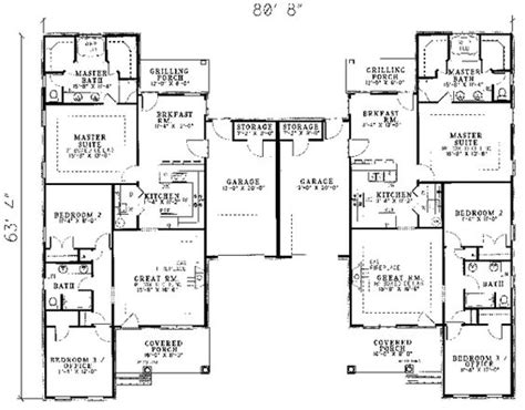 compound floor plans 28 multi family compound house plans multi family