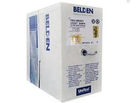 Kabel Lan Utp Cat5 Cat 5e Belden Made In Usa 1 Roll New Promo harga kabel belden cat 6 usa cats