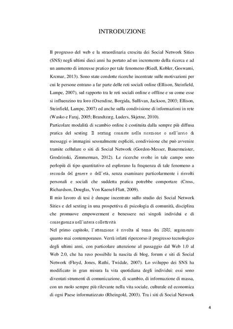 thesis abstract empowerment l era virtuale il fenomeno del sexting una ricerca