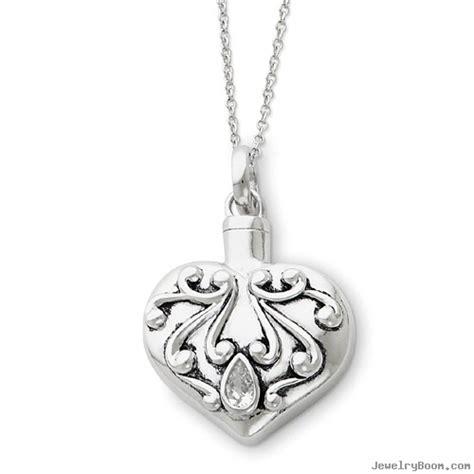 sterling silver antiqued remembrance ash holder 18