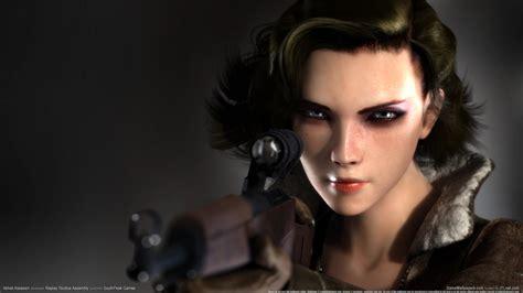 wallpaper gamer girl velvet assassin wallpaper
