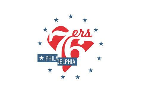 michael weinstein nba logo redesigns denver nuggets michael weinstein nba logo redesigns philadelphia 76ers